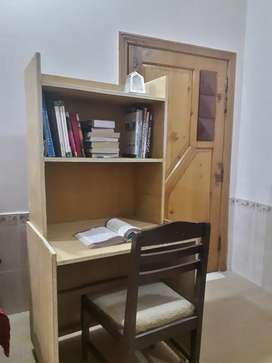 Study table made of wood