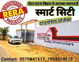 Plot size 600-6400sq ft Affordable rate