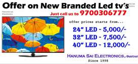 Offer on New Branded Led tv's