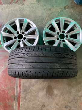 BMW f10 5 series original 17inch alloy wheel for sale