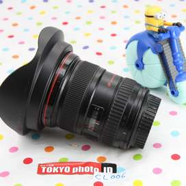 Lensa Canon EF 17-40mm f4 L  Kode Uz grade C tidak mulus