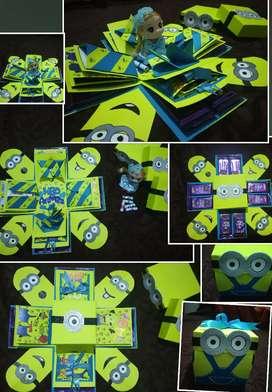 Customized Theme gift boxes