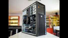 HP Z420 PC (exchange possible with a laptop)