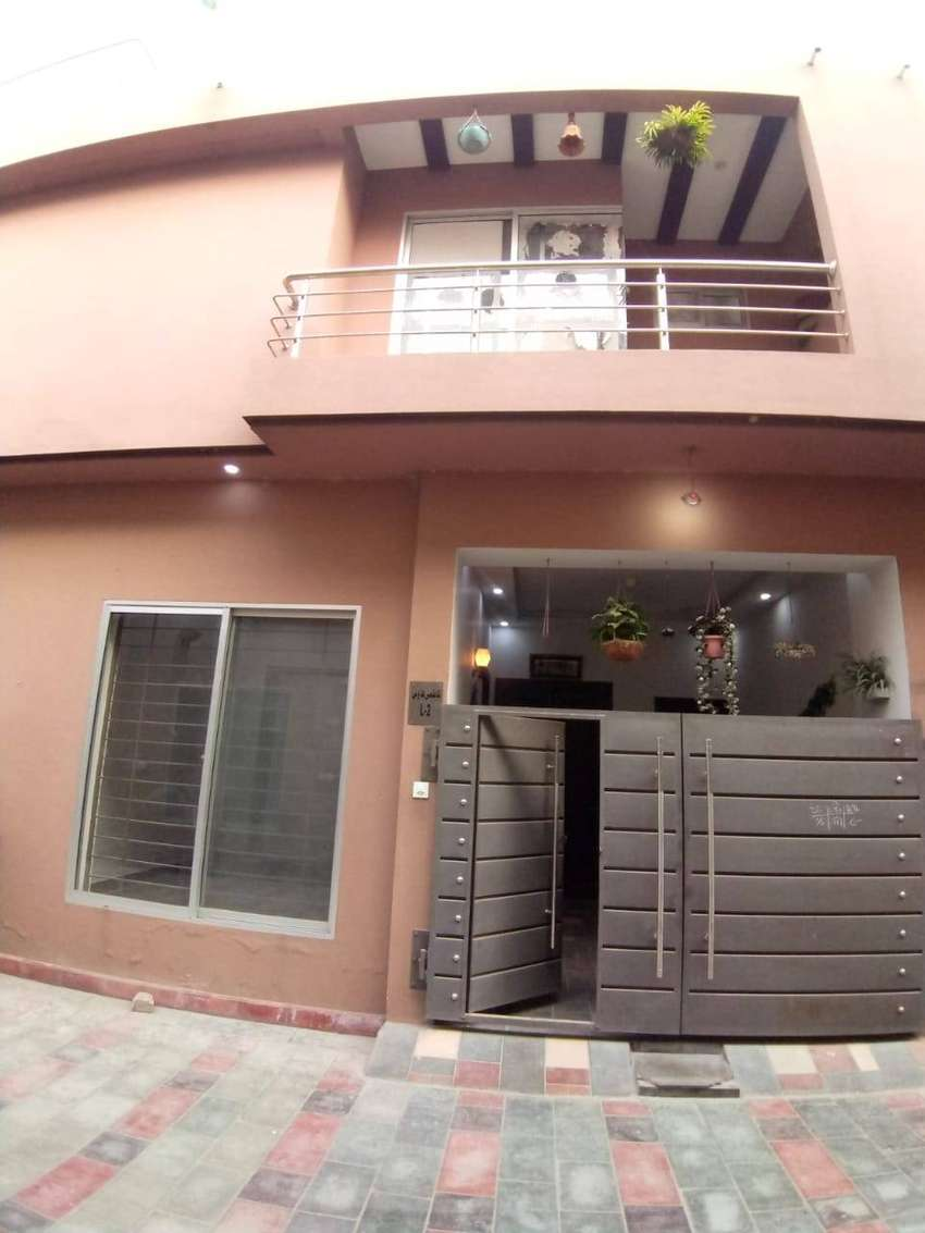 3.5 marla slightly use house for sale in Mehra abad new airport road 0