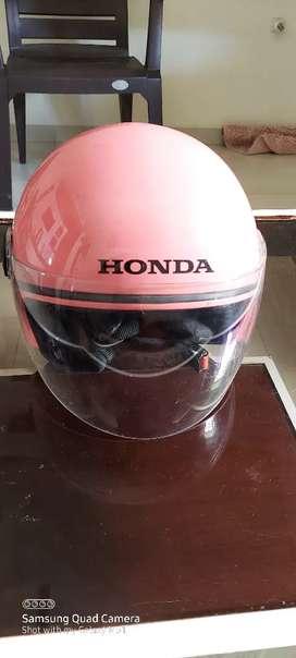 Helmet for Ledies STUDDS Company blezing Honda front side
