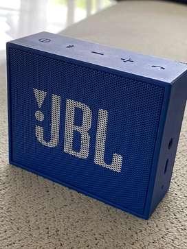 JBL Go bluetooth portable speaker - blue (preloved)