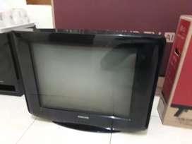 TV Samsung 21inc flatt slim glossy bening