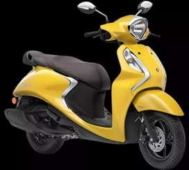 Yamaha fascino New Rs.5555