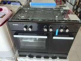 Kompor Tanam 4 Tungku + Oven Modena