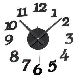 Jam Dinding Jumbo Serbaguna 2 in 1 Berkualitas, MURAH dan Praktis
