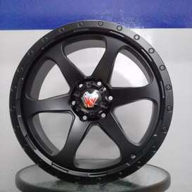 velg mamba m16a r20x9.0 h6x139.7 et18 on pajero fortuner