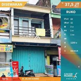Disewakan Ruko Jl Sudiro Kota Batu Lokasi Strategis , Siap Huni