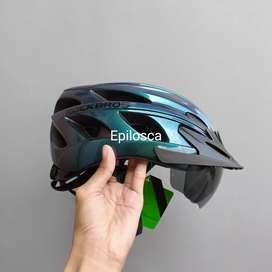 Helm Sepeda Rockbros TT-16 (Aurora Blue)