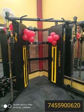 Gym full branded setup ( manufacturer)