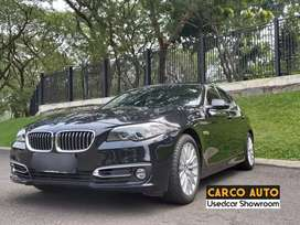 BMW 528i Luxury 2014 Facelift F10 Hitam Record BMW