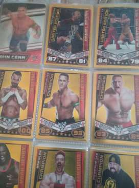 WWE Slam Attax (message me for more pics)