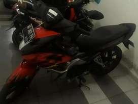 Honda blade 110 cc merah
