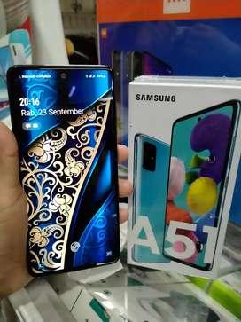Samsung A51 8/128GB Bekas seperti baru garansi panjang