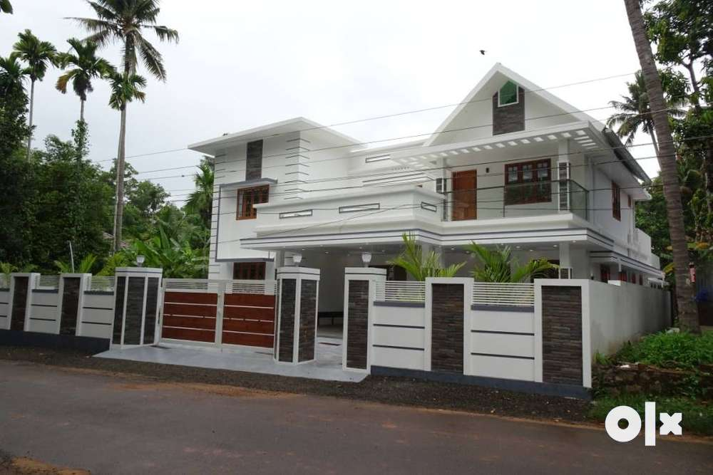 brand new independent semi furnished house at aluva kapprasserry