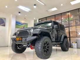 Jeep Rubicon 2011, 3.8, Full Variasi, Odo 43rb SAC