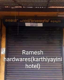 2BHK home for rent near Ramesh hardwares(karthiyayini hotel)