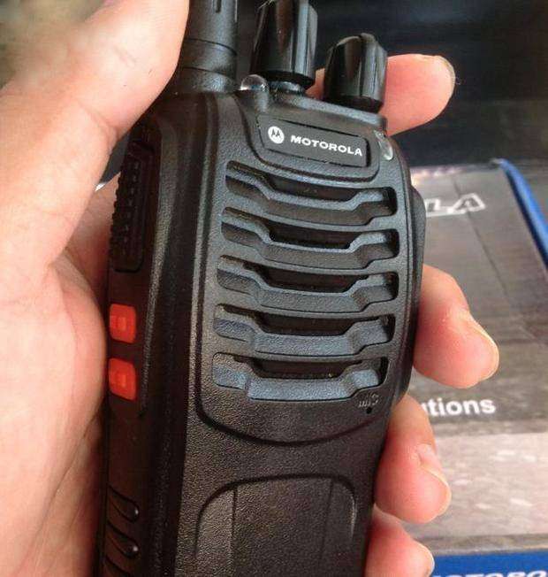 Pair of US Branded M-O-T-O Wireless Set GP-366 UHF PMR Radio Solution 0