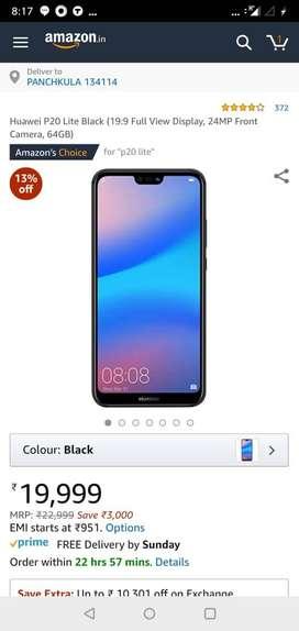 Huawei P20 lite unused