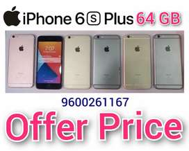 IPhone 6s Plus 64gb, 6 Nos.Used Mobiles For Offer Price At SKY MOBILES