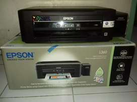 Jual Printer Epson L360 print scan copy