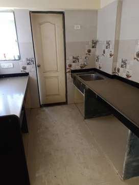 1bhk selling flat available in near dmart Ghodbander road
