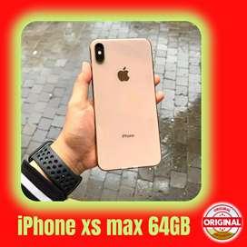 SECOND IPHONE XS MAX 64 GB EKS INTER - FULLSET