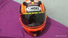 Helm GM Race Pro Bull Hunter full sticker Shoei