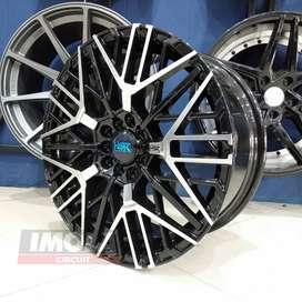 Velg mobil racing murah ring 17 HSR wheel baut 5x100 dan 5x114,3 Altis