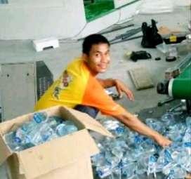 Usaha Air kemasan Gelas yg Komplit Mesin Cup + gelas Dos pipet