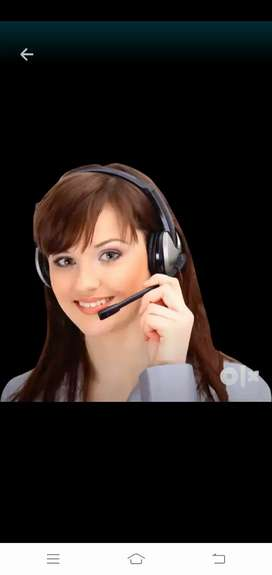 Reception And calling work required Female Assistant  fixed