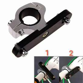Konektor tambahan di stang sepeda