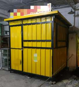 Rombong kontainer 2 X 2 X 2