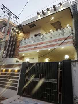 Brand new 5 Marla corner 2 story house for sale.