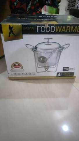 Food Warmer Medeenalux / tempat makan prasmanan 3 item