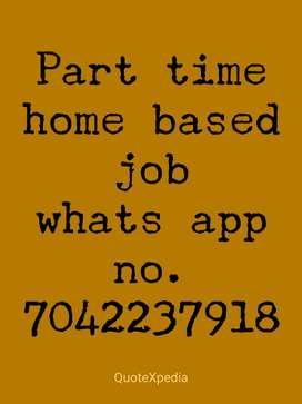 home based job available for housewife and students