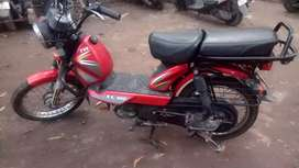 Tvs XL100 Red colour
