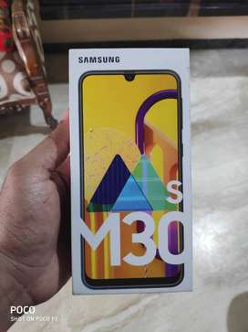 Samsung M30s brand new sealed pack for sale.