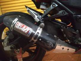 Knalpot Moge Yoshimura USA Original Kawasaki Ninja 250 Full System