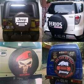 Cover/Sarung Ban Toyota Rush/Terios/Panther/CRV Antar mega mag  Mau bi