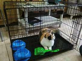 Kandang Besi Kucing Anjing Kelinci Besar