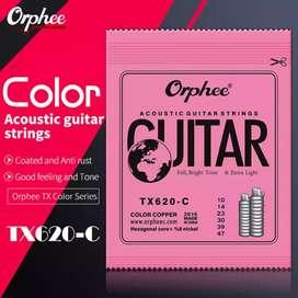 ORPHEE TX 620-C senar gitar akustik warna 0.10