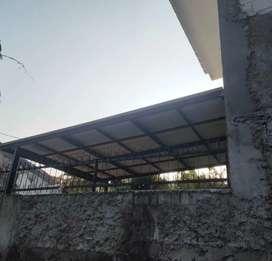 Kanopi atap transparan dan canopy alderon $2729