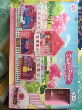 Dreamhouse barbie doll house four-in-one