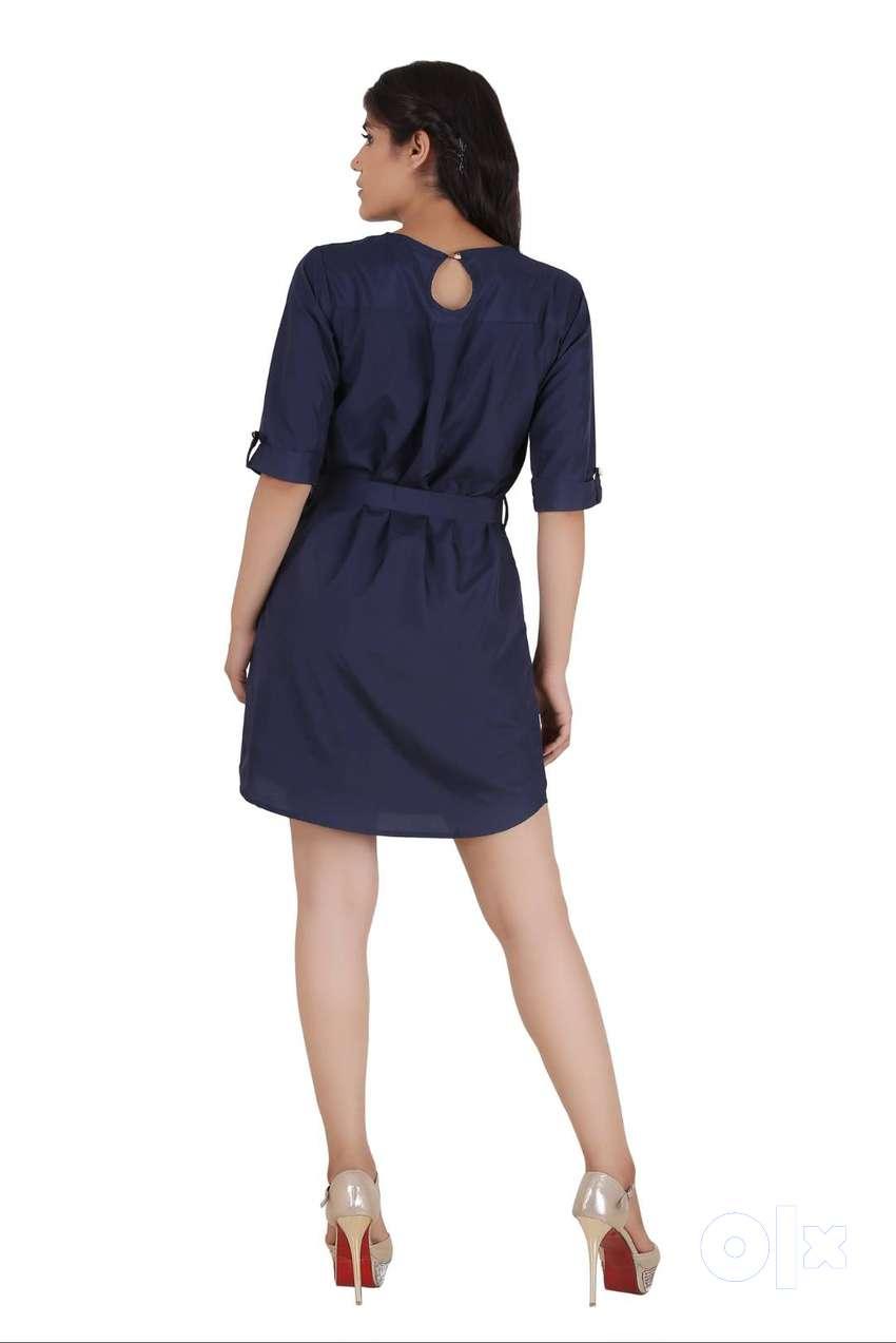 Brand New Western Dress Blue 0
