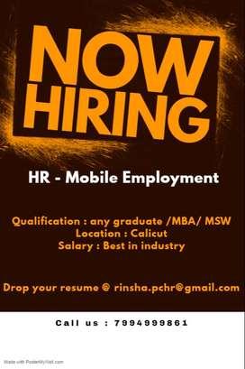 HR - Mobile employment